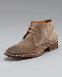 John Varvatos | Brown Crosby Heritage Chukka Boot for Men | Lyst