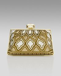 Judith Leiber | Metallic New Mini Trapezoid Clutch | Lyst