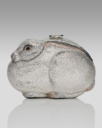 Judith Leiber | Metallic Rabbit Collectors Minaudiere | Lyst