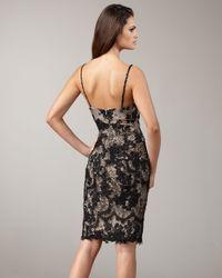 Mandalay - Black V-neck Lace Dress - Lyst