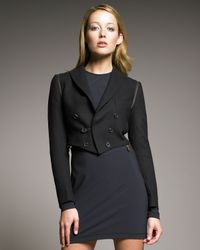 McQ - Black Convertible-zip Tailcoat - Lyst