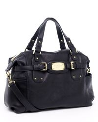 MICHAEL Michael Kors | Gansevoort Medium Satchel, Black | Lyst