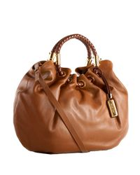 Michael Kors | Brown Skorpios Ring Tote, Cinnamon | Lyst