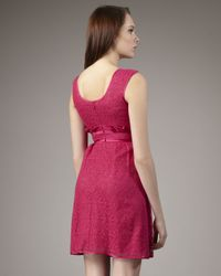 Nanette Lepore - Purple Soundgarden Lace Dress - Lyst