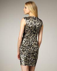 Nanette Lepore | Multicolor Fiery Angel Leopard-print Dress | Lyst