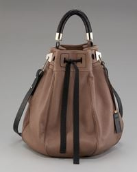 Pauric Sweeney - Brown Leather Bucket Bag - Lyst