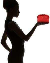 Prada | Black Ruffle Cosmetic Case | Lyst