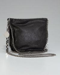 Stella McCartney   Gray Falabella Crossbody Bag   Lyst