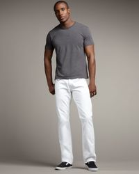 True Religion | White Ricky Optic Rinse Jeans for Men | Lyst