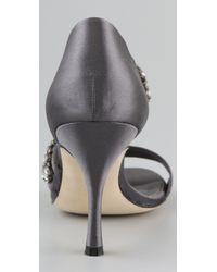 Vera Wang Lavender - Gray Elroy High Heel Sandals - Lyst