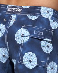 Vilebrequin - Blue Morea Sea Urchin Swim Shorts for Men - Lyst