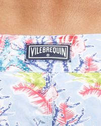 Vilebrequin | Blue Coral-print Ocean Boardshorts for Men | Lyst