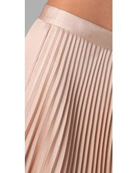 Club Monaco | Pink Gwen Skirt | Lyst