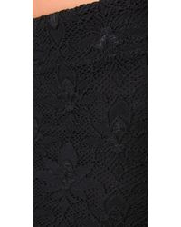 Nightcap | Black Back Slit Lace Maxi Skirt | Lyst