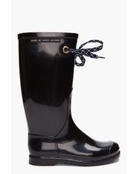 Marc By Marc Jacobs | Black Rain Boots | Lyst