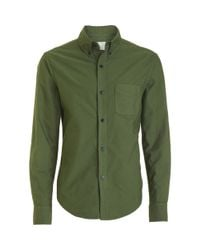 Band of Outsiders - Green Button Down Collar Oxford for Men - Lyst
