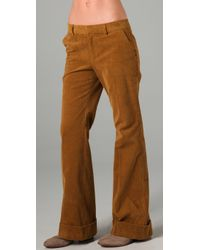 Boy by Band of Outsiders | Brown Wide Leg Corduroy Trousers | Lyst
