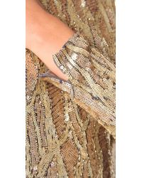 Matthew Williamson - Metallic Liquid Sequin Dress - Lyst