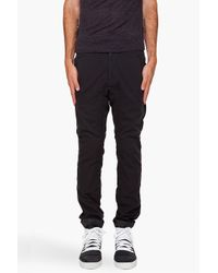 Robert Geller | Black Lounge Pants for Men | Lyst
