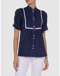 Verrier | Blue Short Sleeve Shirt | Lyst