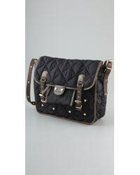 Sonia Rykiel - Black Ligne Penelope Messenger Bag - Lyst