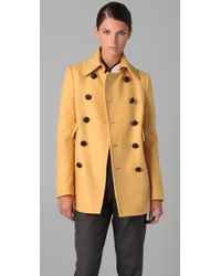 DSquared² - Yellow Shirly Baby Coat - Lyst