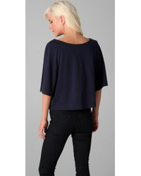 Marc By Marc Jacobs | Black Running Impala Top | Lyst