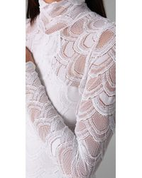 Nightcap - White Classic Victorian Lace Gown - Lyst