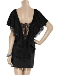 Paul & Joe | Black Ruffle Tier Dress | Lyst