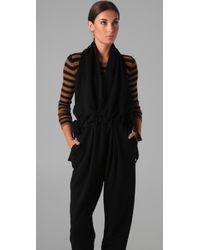 Sonia Rykiel - Black Backless Jumpsuit - Lyst