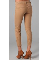 Vince - Natural Zip Zip Pants - Lyst
