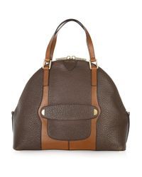 Marc Jacobs | Brown The Bowery Two-tone Leather Tote | Lyst