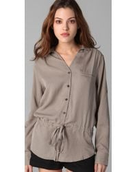 Rag & Bone | Brown The New Sullivan Tunic | Lyst