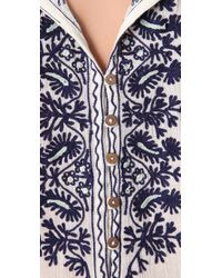 Joie - White Haruko Embroidered Tunic - Lyst