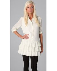 Kova & T | White Perry Blouse | Lyst