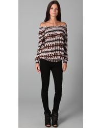 Rachel Pally | Brown Leighton Top | Lyst