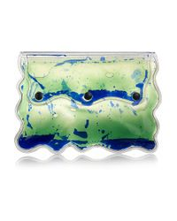 Christopher Kane | Green Aqua Gel-filled Pvc Clutch | Lyst