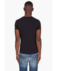 DIESEL | Black Umtee-randal T-shirt for Men | Lyst