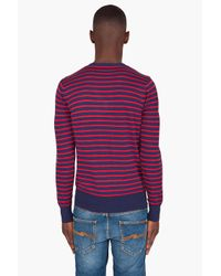 G-Star RAW | Red Ives V Kneck Jumper for Men | Lyst