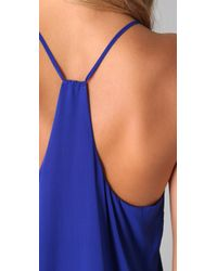Alice + Olivia | Blue Fierra T Back Dress | Lyst