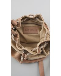 Club Monaco - Natural Caroline Drawstring Bag - Lyst