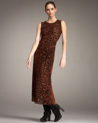 Jean Paul Gaultier | Multicolor Leopard-print Tulle Maxi Dress | Lyst