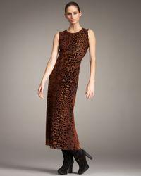 Jean Paul Gaultier - Multicolor Leopard-print Tulle Maxi Dress - Lyst
