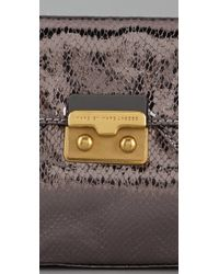 Marc By Marc Jacobs - Metallic Snake On A Wire Clutch - Lyst