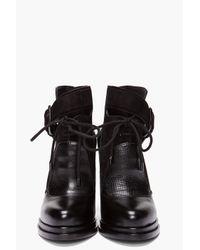 Alexander Wang | Black Monique Boots | Lyst
