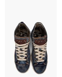 DIESEL | Blue Exposure Iv W Sneakers | Lyst