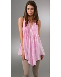 Elizabeth and James | Pink Sleeveless Tokyo Top | Lyst