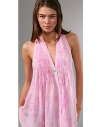 Elizabeth and James   Pink Sleeveless Tokyo Top   Lyst
