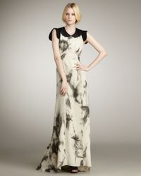Kelly Wearstler - Natural Palladian Printed Maxi Dress - Lyst