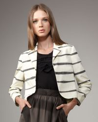 Kelly Wearstler | Natural Tanzanite Striped Blazer | Lyst